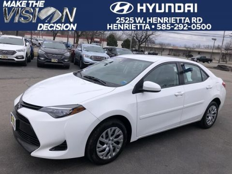 Pre-Owned 2017 Toyota Corolla LE FWD Sedan